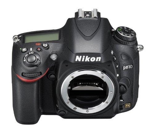 """NIKON D610 - Cámara Réflex Digital de 24.3 MP, Full Frame, HDR, Disparo Ráfaga Silencioso, Pantalla 3.2"""", Color Negro"""