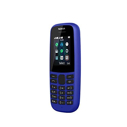 Nokia 105 2019 Blue Dual Sim. Versión Internacional.