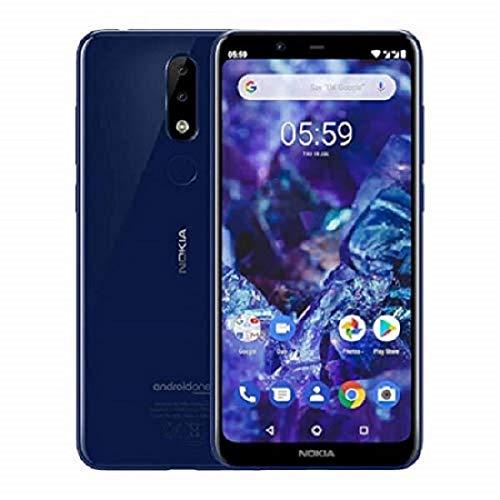 "Nokia 5.1 Plus 14,7 cm (5.8"") 3 GB 32 GB SIM Doble 4G Azul 3060 mAh - Smartphone (14,7 cm (5.8""), 1,8 GHz, 3 GB, 32 GB, 13 MP, Azul)"