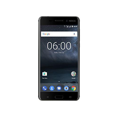 "Nokia 6 SIM Doble 4G 32GB Negro - Smartphone (14 cm (5.5""), 32 GB, 16 MP, Android, 7.1.1 Nougat, Negro)"