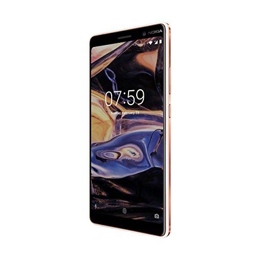 """Nokia 7 Plus 4G 64GB, Blanco, Cobre - Smartphone (15,2 cm (6""""), 64 GB, 12 MP, Android, O, Blanco, Cobre)"""