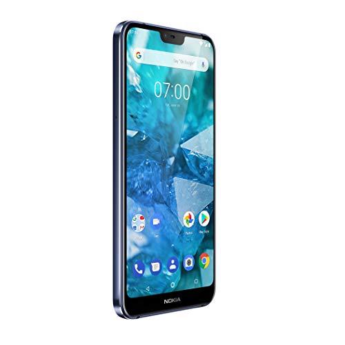 "Nokia 7.1 14,8 cm (5.84"") 3 GB 32 GB SIM Doble 4G Azul 3060 mAh - Smartphone (14,8 cm (5.84""), 2280 x 1080 Pixeles, 3 GB, 32 GB, 12 MP, Azul)"