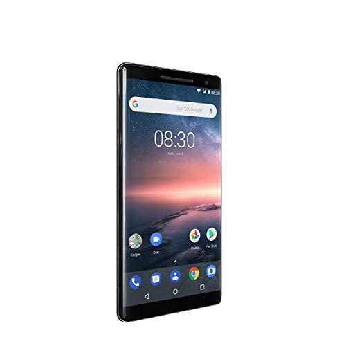 "Nokia 8 Sirocco 4G 128GB Negro - Smartphone (14 cm (5.5""), 128 GB, 12 MP, Android, O, Negro)"