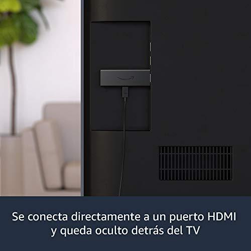 Nuevo Fire TV Stick con mando por voz Alexa (incluye controles del TV), streaming HD, modelo de 2020