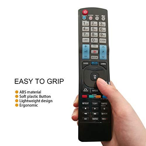 Nuevo Mando a Distancia el Control Remoto del para Varios TV LG LCD - No Se Requiere Configuración del Televisor Control Remoto Universal 42LW450U 42LW451C 42LW540U