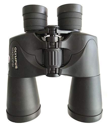 Olympus Prismáticos 10 x 50 DPS-I, zoom óptico 10x, Negro