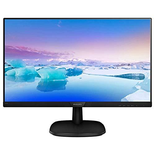 "Philips 273V7QDAB/00 - Monitor IPS de 27"" con Altavoces (Full HD, 1920x1080, Sin bordes, Flicker Free, Low Blue Mode, VESA, VGA + HDMI + DVI)"