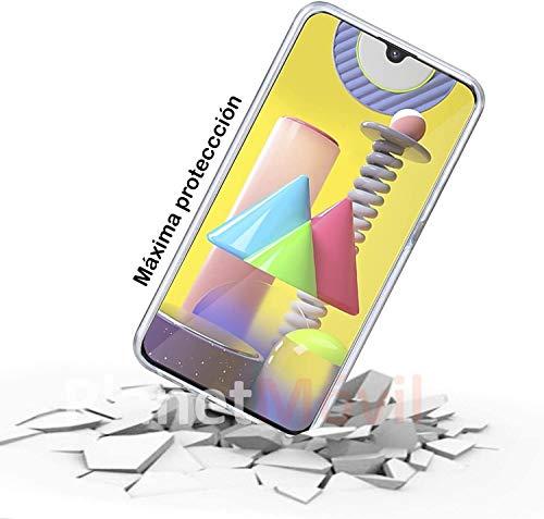 PLANETMOVIL Funda 360 para Samsung Galaxy S20 FE 4G y 5G Carcasa Doble Cara Delantera+Trasera TPU rigido Doble