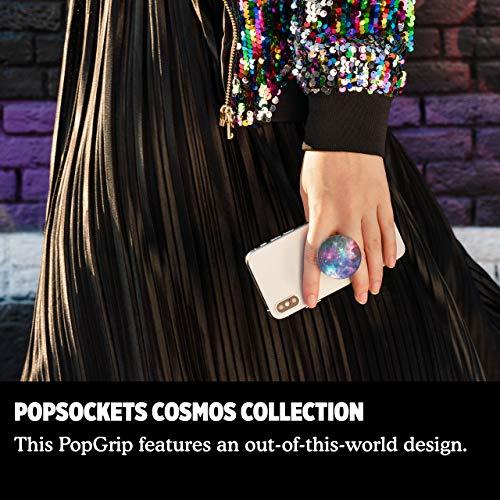 PopSockets PopGrip - Soporte y Agarre para Teléfonos Móviles y Tabletas con un Top Intercambiable - Blue Nebula