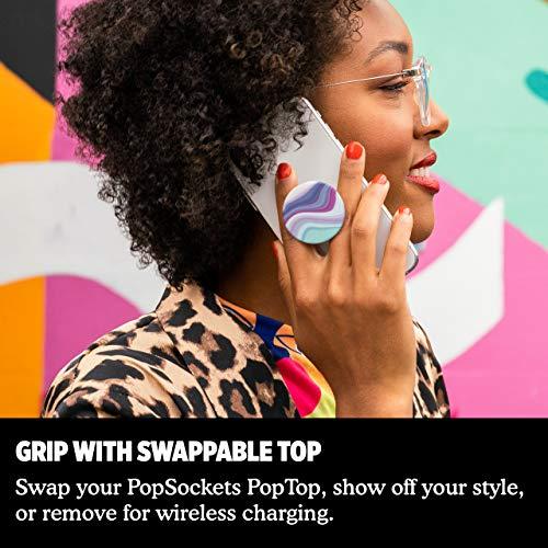 PopSockets PopGrip - Soporte y Agarre para Teléfonos Móviles y Tabletas con un Top Intercambiable - Metamorphic