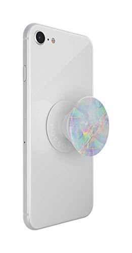PopSockets PopGrip - Soporte y Agarre para Teléfonos Móviles y Tabletas con un Top Intercambiable - Opal