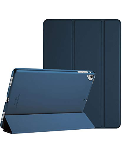 """ProCase Funda Inteligente para iPad Pro 12.9"""" 2017/2015 (Modelo Viejo), Carcasa Folio Ligera y Delgada con Smart Cover/Reverso Translúcido/Soporte para Apple iPad Pro 12.9 1ª 2ª Generación –Marino"""
