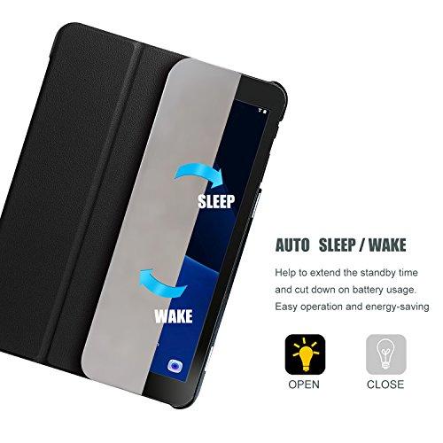 ProCase Funda Samsung Galaxy Tab S3 9.7, Carcasa con Tapa Inteligente para T820 T825 T827 –Negro