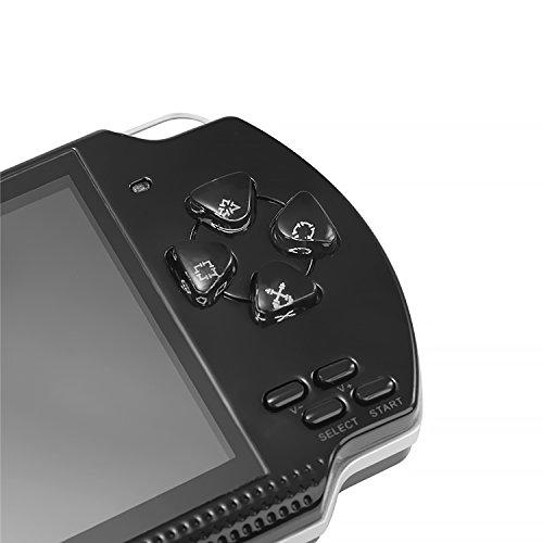 QUMOX 64Bit Consola de juegos de mano 4.3 pulgadas Built-in 100
