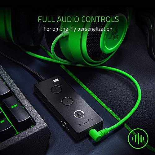 Razer Kraken Tournament Edition Auriculares Gaming, con Cable, Control de Audio y THX Spatial Audio, Alámbrico, Verde