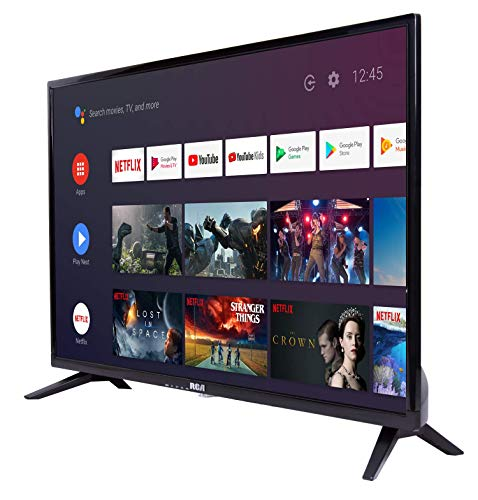 RCA RS32H2 Android TV (32 Pulgadas HD Smart TV con Google Assistant), Chromecast Incorporado, HDMI+USB, Triple Tuner, 60Hz