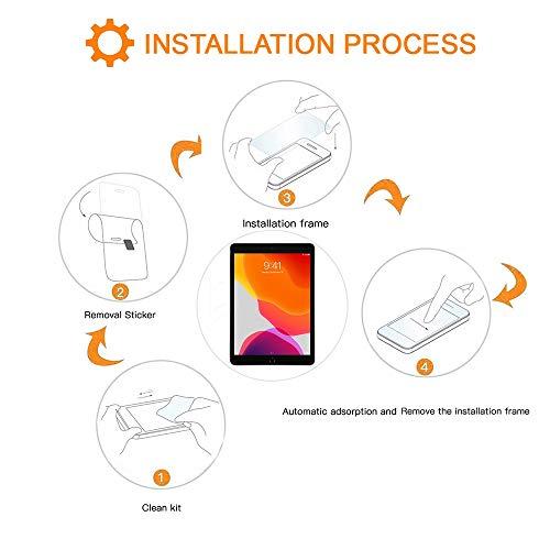 REY 2X Protector de Pantalla para iPad Mini 5, 4, 3, 2, 1, Cristal Vidrio Templado Premium, Táblet