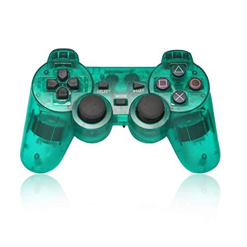 RONGXUE Gamepad Gamepad Inalámbrico para Consola PS2 Joystick Dual Vibration Gamepad Controlador Inalámbrico Sensible Duradero Sentirse Bien Fácil De Usar