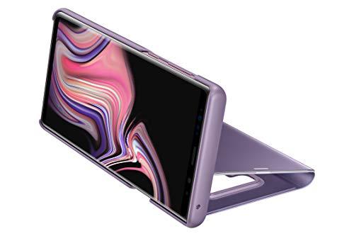 Samsung Clear View Standing - Funda para Galaxy Note 9, color púrpura (lavanda)- Version española