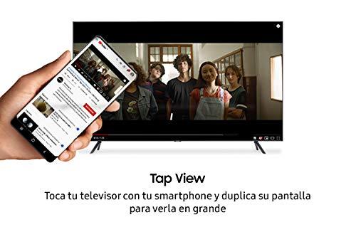 """Samsung Crystal UHD 2020 43TU7105- Smart TV de 43"""" con Resolución 4K, HDR 10+, Crystal Display, Procesador 4K, PurColor, Sonido Inteligente, Función One Remote Control y Compatible Asistentes de Voz"""