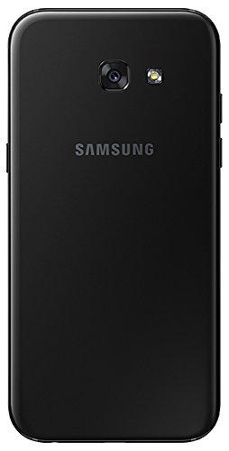 Samsung Galaxy A5 2017, Smartphone libre (5.2'', 3GB RAM, 32GB, 16MP) [Versión alemana: No incluye Samsung Pay ni acceso a promociones Samsung Members], color Negro