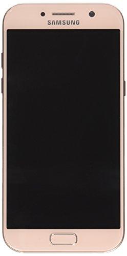 Samsung Galaxy A5 2017, Smartphone libre (5.2'', 3GB RAM, 32GB, 16MP/Versión alemana: No incluye Samsung Pay ni acceso a promociones Samsung Members), color Rosa