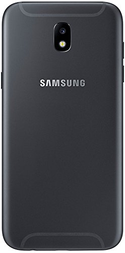 Samsung Galaxy J5 (2017) - Smartphone de 5,2'' (SIM Doble, 4G, 16GB, 1280 x 720 Pixeles, Plana, SAMOLED, 16 Millones de Colores, 16:9), Negro [Versión importada]
