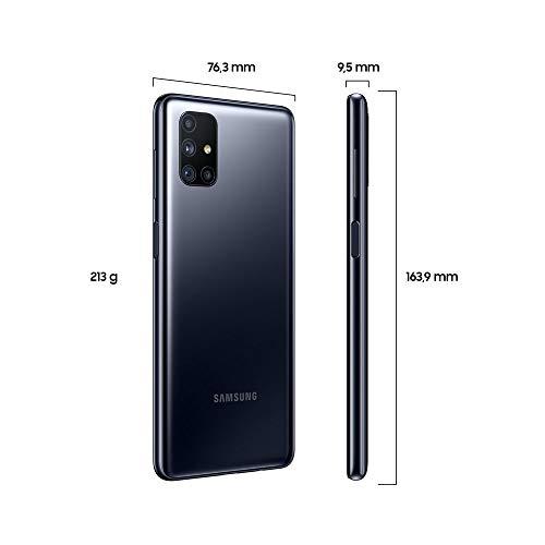 """Samsung Galaxy M51 Smartphone de 6.7"""" FHD+   Móvil Libre   Batería 7000 mAh y Carga rápida - Color Negro [Versión española] [Exclusivo Amazon]"""