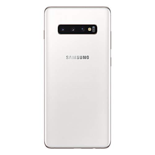 "Samsung Galaxy S10+ - Smartphone de 6.4"" QHD+ Curved Dynamic AMOLED, 16 MP, Exynos 9820, Wireless & Fast & Reverse Charging, 512 GB, Blanco (Ceramic White)"