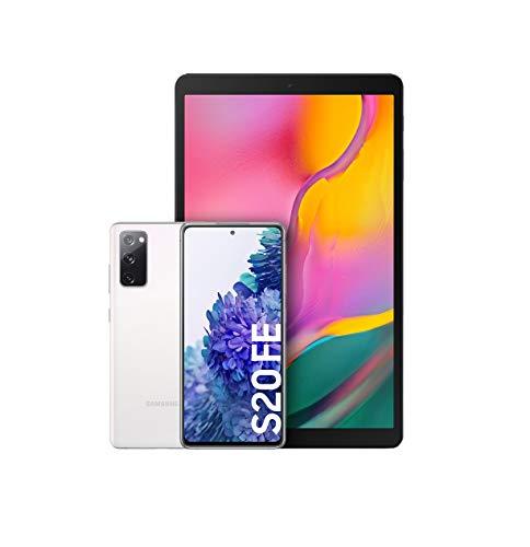 """Samsung Galaxy S20 FE 4G Blanco + Galaxy Tab A, Tablet de 10.1"""" FullHD Wifi"""
