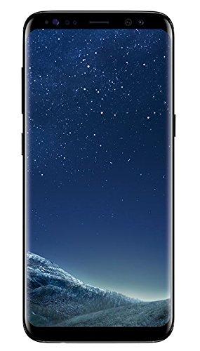 Samsung Galaxy S8, Smartphone libre (5.8'', 4GB RAM, 64GB, 12MP) [Versión Alemana: No incluye Samsung Pay ni acceso a promociones Samsung Members], color Negro