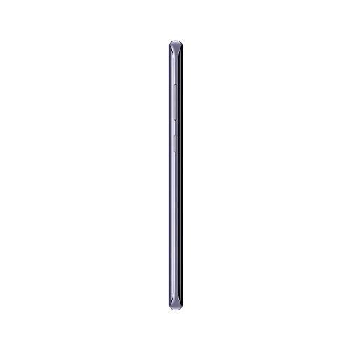 """Samsung Galaxy S8 - Smartphone libre de 5.8"""" QHD+ (4 G, Bluetooth, Octa-Core S, 64 GB memoria interna, 4 GB RAM, camara de 12 MP, Android), Gris orquídea, -[Versión española]"""