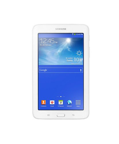 "Samsung Galaxy Tab 3 Lite - Tablet de 7"" (WiFi + Bluetooth 3.0, 8GB, 1 GB RAM, Android 4.3 Jelly Bean), blanco"