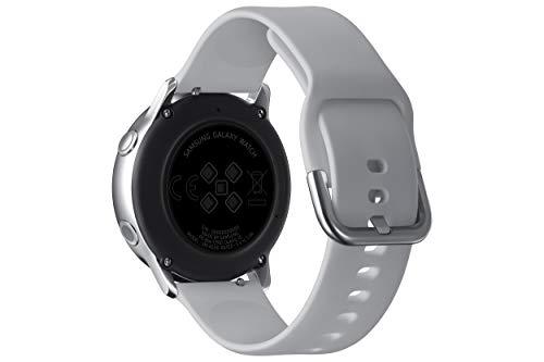 """Samsung Galaxy Watch Active – Smartwatch (1,1"""",40mm, Tizen, 768 MB de RAM, Memoria Interna de 4 GB), Color plata – Versión Española"""
