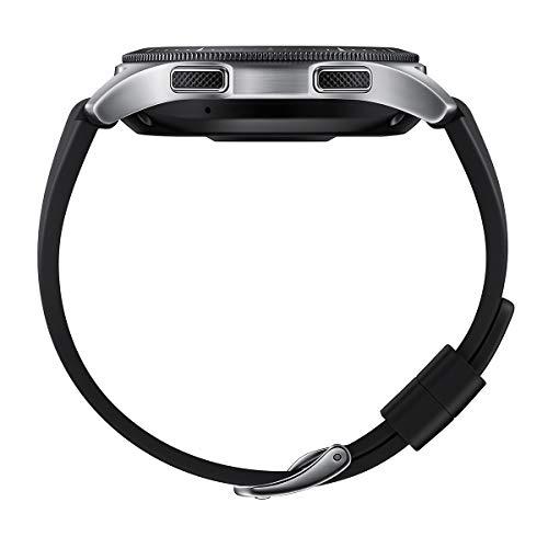 Samsung Galaxy Watch - Reloj Inteligente, Bluetooth, Plata, 46 mm- Version española