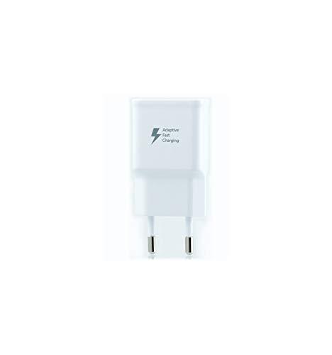 SAMSUNG TA20Cargador Galaxy S7Edge, Carga rápida, AFC 2A, con Cable Micro USB de 1,5m, Blanco