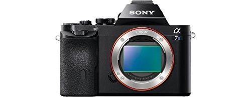 Sony Alpha ILCE7S/BQ - Cámara EVIL (sensor Full Frame 35 mm, 12.2 Mp, ISO 409600, procesado en 16 bits, visor OLED, vídeo Full HD, Wi-Fi y NFC, sólo cuerpo) color negro