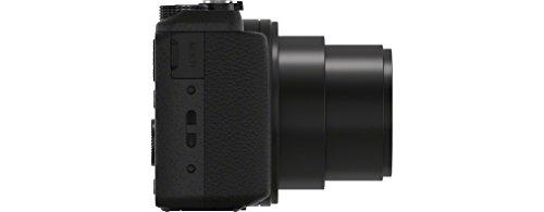 "Sony HX60, Cámara Compacta de 20.4 MP (Pantalla de 3"", Zoom Óptico 30x, Estabilizador Óptico, Vídeo Full HD), microUSB, Negro"