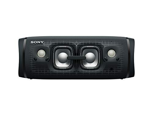 Sony SRS-XB43 Altavoz Bluetooth Potente, con Luces, Extra Bass, Resistente al Agua, Polvo, óxido y Larga duración de batería de hasta 24h, Negro