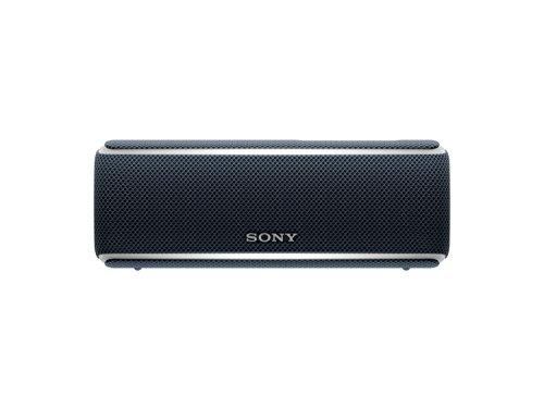 Sony SRSXB21B - Altavoz portátil Bluetooth (Extra bass, modo sonido live, party booster y luces de fiesta llamativas), color negro