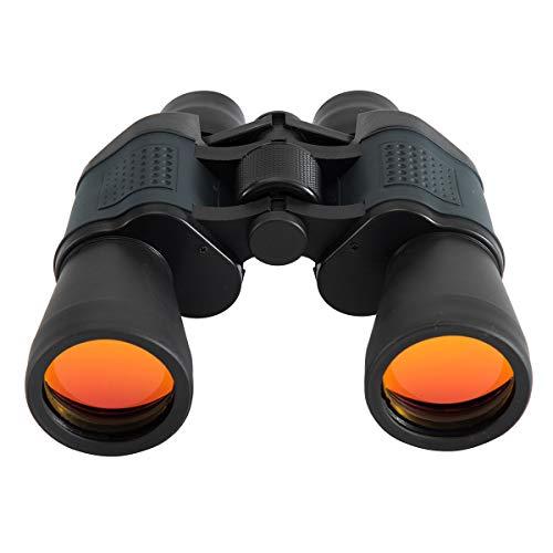 SP-Cow Prismáticos, 10x50 HD Prismaticos Profesionales Telescopio con Prismas BaK4 y FMC, Resistente al Agua y A Prueba de Niebla, Ideales para Observación de Aves, Senderismo, Astronomía y Camping