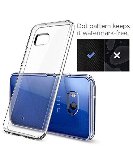 Spigen Funda HTC U11, Carcasa [Liquid Crystal] Protección Delgada y Claridad Premium para HTC U11 [Transparente]