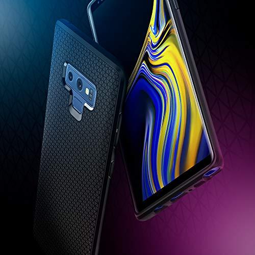 Spigen Funda Liquid Air Compatible con Samsung Galaxy Note 9 (2018), Flexión Duradero y Diseño de Fácil Agarre - Negro