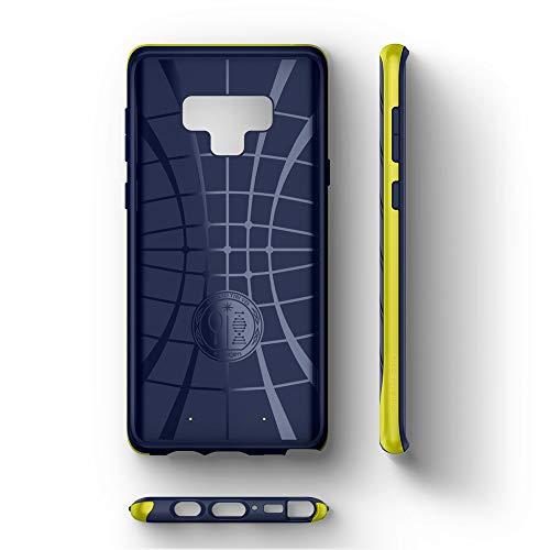 Spigen [Neo Hybrid Protección Flexible del diseño en Espiga y Marco de Parachoques Reforzado para Samsung Galaxy Note 9 (2018) - Ocean Blue