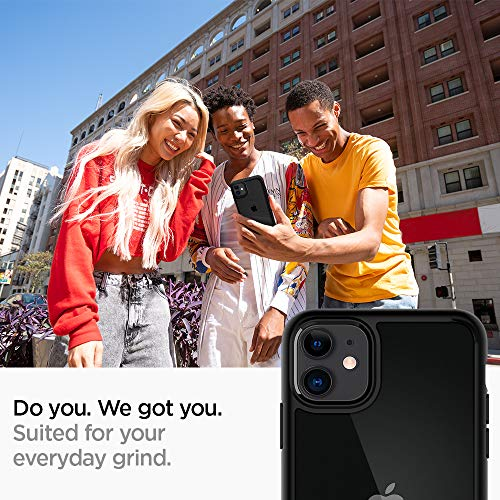 "Spigen Ultra Hybrid Funda para iPhone 11, Compatible con Apple iPhone 11 (6.1"") 2019 - Negro Mate"