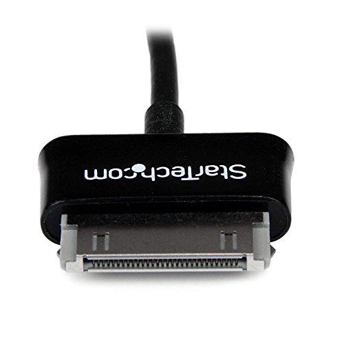 StarTech.com SDCOTG - Cable Adaptador USB OTG, USB A Hembra para Samsung Galaxy Tab, Negro