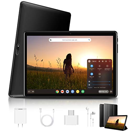 Tablet 10 Pulgadas 4G , 3GB RAM 32GB ROM /128 GB de Expandir Android 9.0 4G Tablet PC Quad-Core Batería de 8500mAh Dual SIM 8MP Cámara Bluetooth GPS 4G WiFi OTG Netflix (Negro)