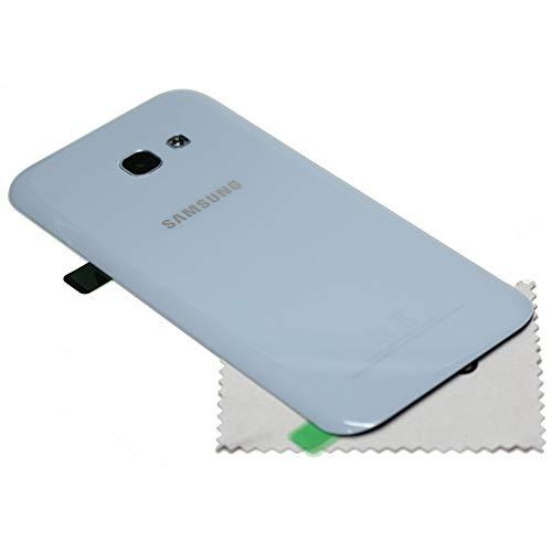 Tapa de batería para Samsung Original a520F Galaxy A52017Azul + mungoo Pantalla paño de Limpieza