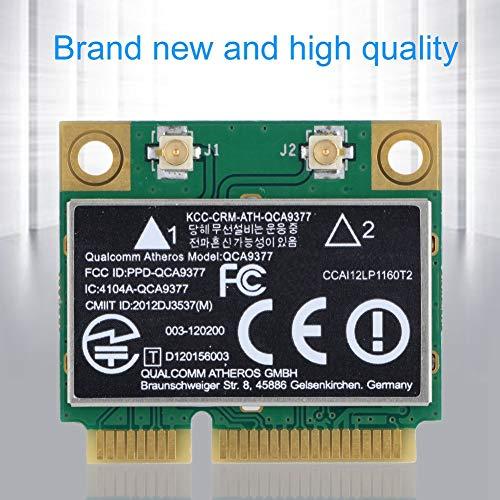 Tarjeta de red mini WIFI PCI-E de doble banda 2,4 G/5 GHz + tarjeta de red Bluetooth 4.2 433 Mbps WIFI Mini PCI-E tarjeta inalámbrica para Windows 7/10.