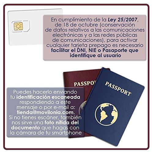 Tarjeta SIM de PREPAGO de República Móvil -3 en 1-10 Llamadas Nacionales - Internet Móvil 4G (Cobertura Orange)